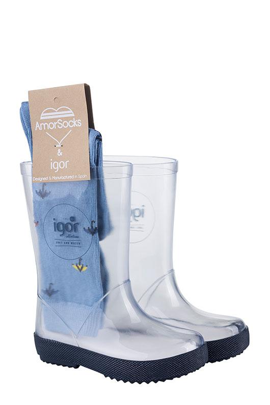 en pies imágenes de de calidad superior al por mayor Botas de agua para niños, comprar botas de lluvia IGOR